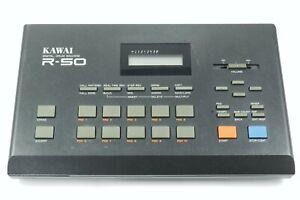 Kawai R-50 digital drum machine computer Vintage Schlagzeug Percussion Effekt
