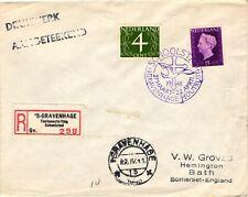 GP GOLDPATH: NETHERLANDS COVER 1948 REGISTERED LETTER _CV678_P08