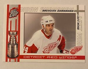 Brendan Shanahan Quest For The Cup #40 Detroit Red Wings 2004