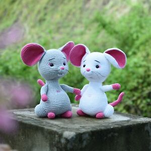 Cute Little Mouse, Mouse Crochet Toy For A Newborn Or Child Gift, Newborn Shower