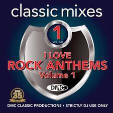DMC I Love Rock Athems Remixes & 2 Trackers Mixes DJ CD Ft Status Quo & Bon Jovi