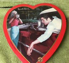 Empty Heart Russell Stover Valentines Elvis Presley Collector's Series 1999