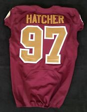 #97 Jason Hatcher of Washington Redskins Alternate Nike Game Issued Jersey