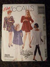 McCalls 5704 Fashion Basics Tunic, Skirt, Leggings 1991 Pattern size 6/8 Uncut