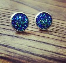 Druzy Stud Handcrafted Earrings