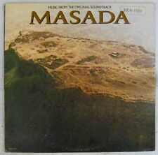 Masada 33 tours Peter o'Tolle Jerry Goldsmith 1981