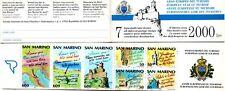San Marino  - 1990 libretto Anno Europeo del Turismo