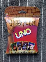 NEW SEALED Harry Potter Uno Card Game Mattel 2000 Original Issue VERY RARE