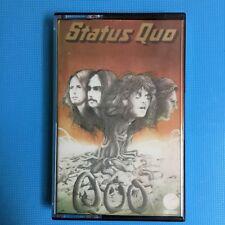 """STATUS QUO """"QUO"""" CASSETTE TAPE 1974 PAPER LABEL VERTIGO UK"""