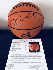 c1957b3f5cca KOBE BRYANT Signed Basketball Lakers 2000 NBA CHAMPS KOBE 8 LOGO JSA COA  RARE !