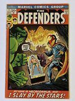 DEFENDERS # 1 VG+/F-  MARVEL COMICS 1972 HULK DR STRANGE NAMOR