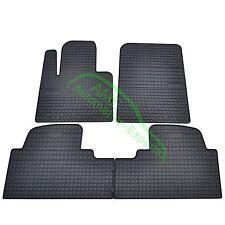 Gummimatten Fußmatten für Hyundai Santa Fe + Grand (Typ DM) ab Bj: 2012-2017