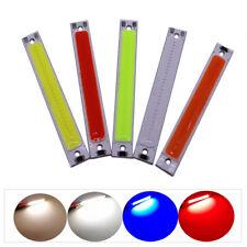 3W COB LED 60x8mm 3V 6V Red Blue Cold Warm White COB Strip LED light Source Bar