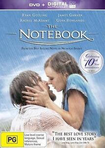 THE NOTEBOOK : NEW DVD + UV