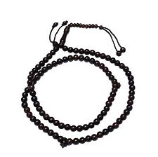 8mm-Bead Dense Tamarind Wood Muslim Prayer Rosary Tasbih -99-beads & Counters