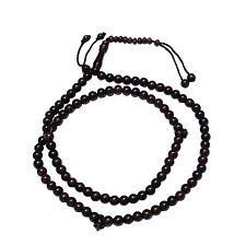 8mm-Bead Dense Tamarind Wood Muslim Prayer Rosary Tasbih -99-beads & Counters