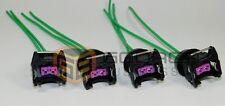 4x Connector Plug Harness EV1 Fuel Injector Harness Pigtail  sensor BMW Honda