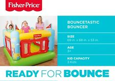 🔥 BRAND NEW Fisher-Price Inflatable Bouncetastic Bouncer Bounce House - Bestway