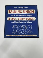 Pete Seeger Talking Union & Other Songs 33 ⅓ rpm LP