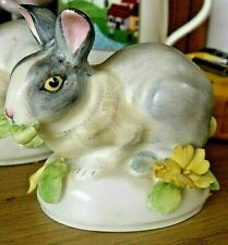More details for vintage crown staffordshire rabbit barbara linley adams 8.5cm long