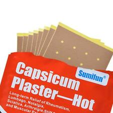 8X bag Capsicum Plaster Muscle Pain Back Pain Relieve Health Patch Set HOT