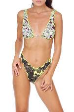 Bikini F**K EFFEK FK donna multicolor lycra costume da bagno triangolo