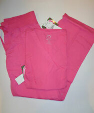 Medical Scrub Set Peaches Pink Top Style 4178/Pant 7438 XL New With Tag  Reg 52