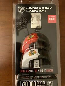 Battle Chicago Blackhawks Signature Series Adult Size Mouthguard Pack of 2