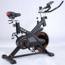 Bicicleta spinning estatica ciclo indoor 20 Kilos de disco ACTIVE