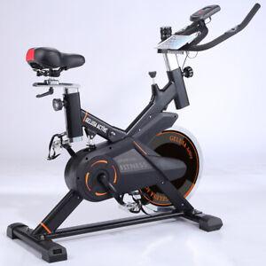 Bicicleta spinning estatica ciclo indoor ACTIVE con amortiguador