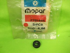 LOT of NOS MOPAR 2781444 Grommet 3 Speed Column Shift