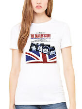 Official The Beatles The Beatles Story Women's T-Shirt Lennon McCartney Ringo