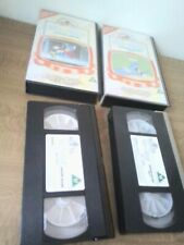 TOM AND  JERRY - CARTOON FESTIVAL - VOLUME VOL. 1 & 2 VHS VIDEOS BUNDLE MGM
