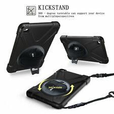 Shockproof Smart Case for Apple iPad Mini 4 With 360° Rotatable Kickstand Cover