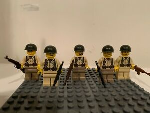 COBI Army ww2 Military CUSTOM BLOCCO MOC LEGO 10 German Mini Figure F.