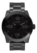 Nixon Corporal SS Watch All Black NEW in box