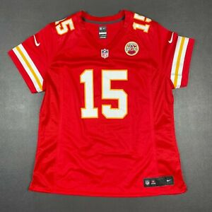 100% Authentic Women's Chiefs Patrick Mahomes Nike Game Player Jersey Size XL