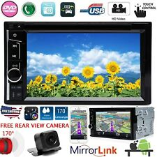 Double Din Car Audio Stereo DVD CD+Camera  For Ford F-250 F-350 F-450 Pickup Van