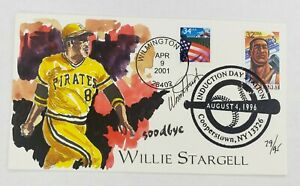 Willie Stargell Wild Horse Cachets HP Event Cover 8/4/96 #79/95