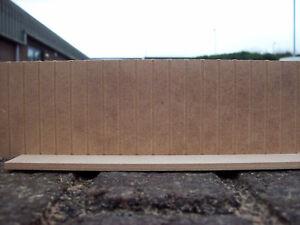 Wall Panels - Looks like tongue & groove (3 x 400mm lengths)