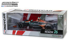Zach Veach 2018 11041 Greenlight 1/18 #26 Delaware Life Indy Car FREE SHIP