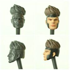Marvel Legends Custom Gambit Head Cast unpainted.