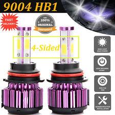 960W 96000Lm 9004 Hb1 Led 4-Sided Headlight Vehicle Car H/L Beam Bulbs Kit 6000k(Fits: Isuzu)