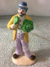 Nice Vintage The Emmitt Kelly Jr Collection Ceramic Clown Figurine Flambro Cool