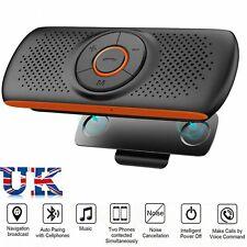Wireless Bluetooth Handsfree Speakerphone Sun Visor Clip Drive Speaker Car Kit