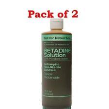 Betadine Solution with 10% Povidine-iodine, 16 oz (Pack of 2)