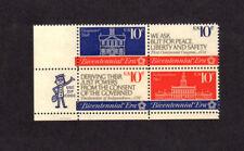 SCOTT # 1543-1546 American Revolution Bicenten U.S. Stamps MNH - Zip Block of 4