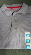 Mens/Boys Grey Polo Shirt Size XS New
