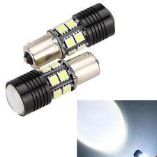 2x White Canbus No Error 1156 BA15S P21W LED Car Tail Backup Reverse Light Bulb