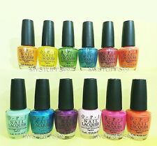 Opi Nail Lacquer *Brighter By The Dozen - Brights Collection 2006* 12 Shades Set